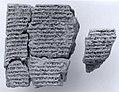 Cuneiform tablet- fragment of a ritual text MET ME86 11 376.jpg