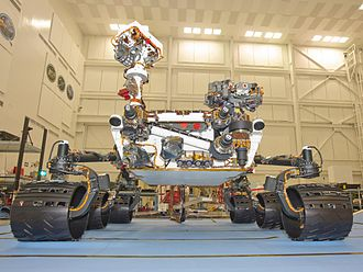 2011 in science - 26 November 2011: NASA launches its Curiosity rover (pictured), the largest Mars rover yet built.