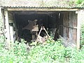 Curious machinery in shed at Sandhill Farm - geograph.org.uk - 786895.jpg