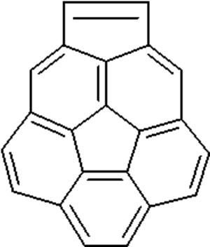 Corannulene - Image: Cyclopenta bc corannulene