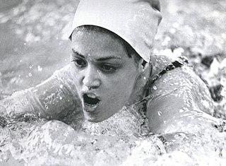 Cynthia Goyette American swimmer, Olympic gold medalist, former world record-holder