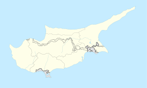 Ormideia is located in Cyprus