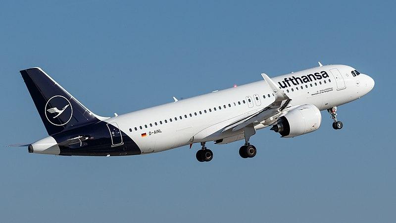 File:D-AINL Lufthansa A320neo Weinheim an der Bergstraße (45105404071).jpg