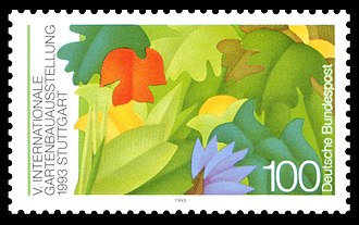 1993 World Horticultural Exposition - Stamp for Horticultural Exposition 1993