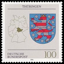 DBP 1994 1716 Wappen Thüringen.jpg