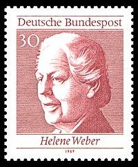DBP Helene Weber 30 Pfennig 1969.jpg