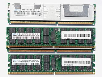 DDR2 SDRAM - DDR2 P vs F Server DIMM's Notch Positions compared.