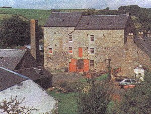 Dalgarven Mill – Museum of Ayrshire Country Life and Costume - The main Dalgarven Mill buildings
