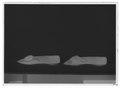 Damsko av svart sammet - Livrustkammaren - 9576-negative.tif