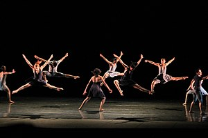 Dance - Members of a dance routine.