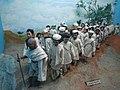Dandi March headed by Mahatma Gandhi at International Dolls Museum, Delhi.jpg