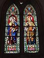 Dangé-Saint-Romain (Vienne) Église Saint-Pierre, vitrail 01.JPG