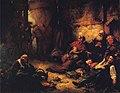 Daniel Ridgway Knight - The Burning of Chambersburg, Pennsylvania.JPG