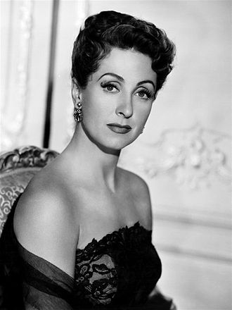 Danielle Darrieux - Darrieux in a publicity photo for 5 Fingers (1952)