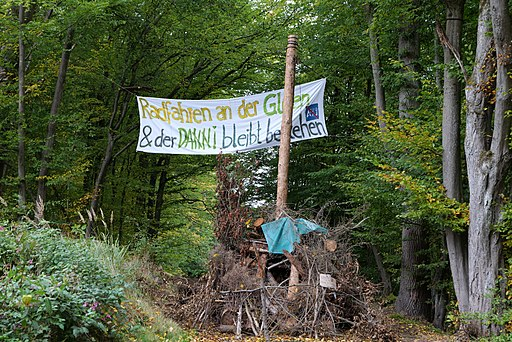 Dannenrod forest occupation 2020-10-08 22