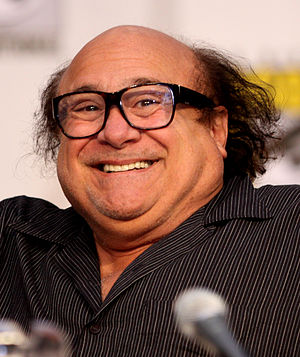 English: Danny DeVito at the 2010 Comic Con in...