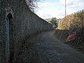 Daracombe's wall by Howton Road - geograph.org.uk - 1729935.jpg