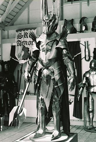 Sauron - Statue of Sauron from The Lord of the Rings movies