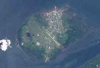 Daru - Image: Daru Island (Landsat)