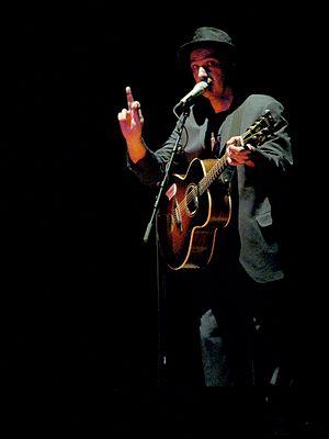 Dave Bidini - Bidini performing with Rheostatics at Massey Hall, 2007