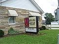 David A. Hall mortuary (Pittsboro, Indiana - 17 July 2009).jpg