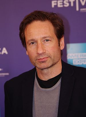 The Sixth Extinction II: Amor Fati - Image: David Duchovny 2011 Shankbone