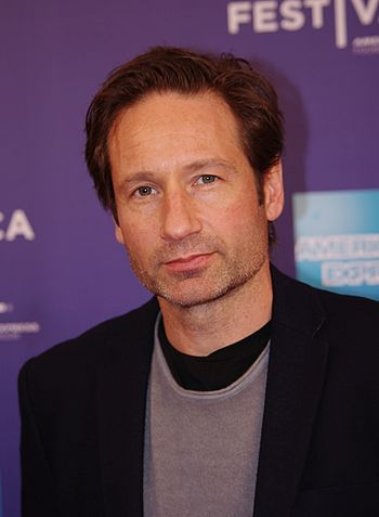English: David Duchovny at the panel Tribeca T...