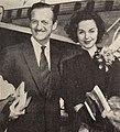 David Niven with his wife Hjördis Genberg, 1960.jpg
