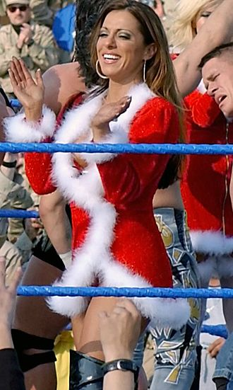 Dawn Marie Psaltis - Marie at Tribute to the Troops in December 2003