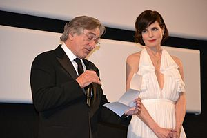 Once Upon a Time in America -  Robert De Niro and Elizabeth McGovern at the screening of the film's restored version, during the 2012 Cannes Film Festival.