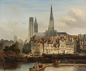 The Quay de Paris in Rouen