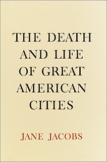 <i>The Death and Life of Great American Cities</i> Book written by Jane Jacobs in 1961