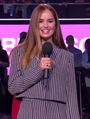Debby Ryan presenting at MTV EMAs 2018.png