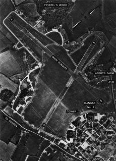 RAF Debden Royal Air Force station in North Essex, England