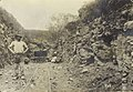 Decauville railway during the construction of the Madeira-Mamoré Railway in Brazil. Published on 24 May 1913 (01).jpg