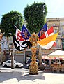 Decoration Independence square Victoria Gozo Malta 2014 4.jpg