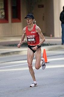 Deena Kastor athletics competitor, long distance runner, and marathoner
