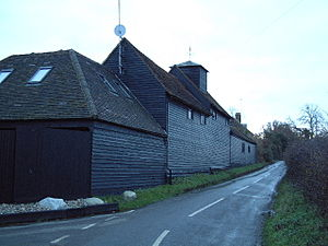 Shades of Deep Purple - Image: Deeves Hall Barn geograph.org.uk 90810
