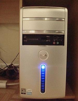 Dell Inspiron - A Dell Inspiron 530.