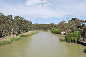 L'Edward River à Deniliquin