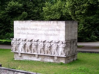 17th Reserve Division (German Empire) - Memorial of the Reserve-Infanterie-Regiment Nr. 76 in Hamburg
