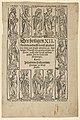 Der Heiligen XII, from the Wittenberg relic-book MET DP843429.jpg