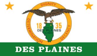 Des Plaines, Illinois - Image: Des Plaines Flag