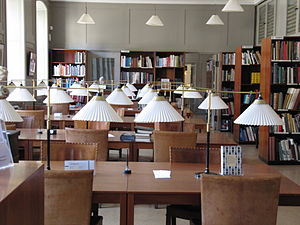 Danish Museum of Art & Design - The Kaare Klint-designed reading room