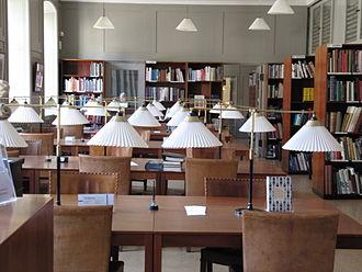 Danish Museum of Art & Design - The Kaare Klint-designed reading room