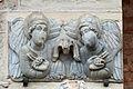 Deux anges - Porte Miégeville - Basilique Saint-Sernin.jpg