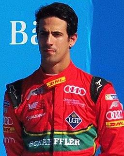 Lucas di Grassi Brazilian racing driver