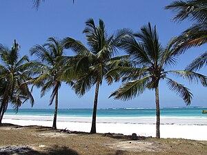 Samstag aus Licht - Diani Beach, Kenya, where Kathinkas Gesang was composed in 1983