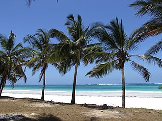Samstag aus Licht - Diani Beach, Kenya, where Kathinkas Gesang was composed in 1983