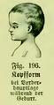 Die Frau als Hausärztin (1911) 196 Kopfform bei Vorderhauptlage während der Geburt.png